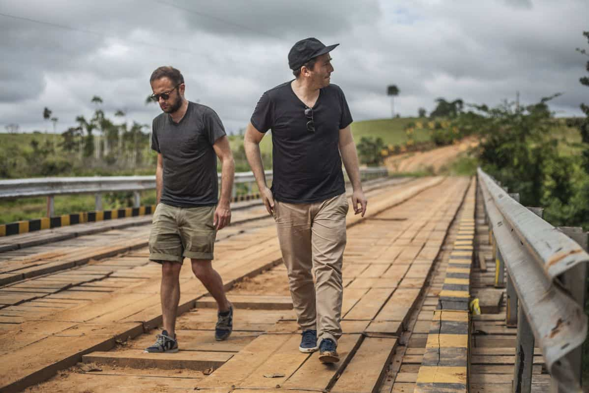 fondateurs Veja Sébastien Kopp et François-Ghislain Morillion