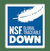 label global TDS garantissant que les oies ou canards ne sont pas déplumés vivants